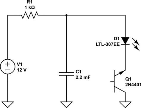 Transistors How Make Blinking Led Without Using Any