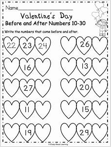 Free Valentine's Day math worksheet for preschool and ...