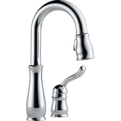 Delta Leland Kitchen Faucet Home Depot by Delta Leland Single Handle Pull Sprayer Kitchen