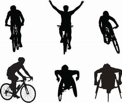 Wheelchair Clipart Race Radfahrer Clip Roulant Fauteuil