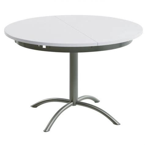 tables rondes de cuisine table cuisine ronde pied central table a manger noir et