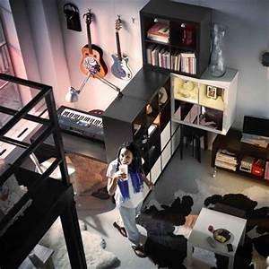 Chambre Ado Fille Ikea : deco chambre ado musique ~ Teatrodelosmanantiales.com Idées de Décoration