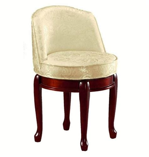vanity stool with back