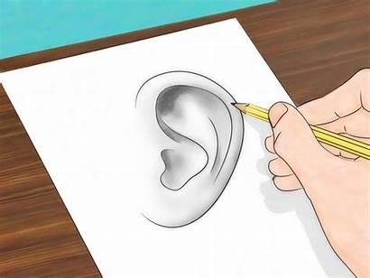 Ears Draw Orejas Step Dibujar Como Dibujos