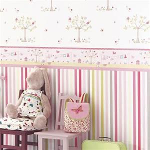 Tapete Babyzimmer Mädchen : babyzimmer tapete gestaltung ~ Frokenaadalensverden.com Haus und Dekorationen