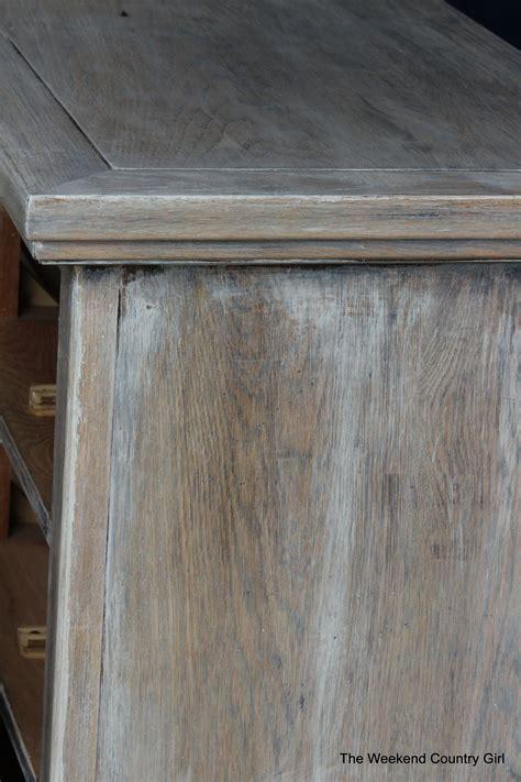 remodelaholic   achieve  restoration hardware weathered oak finish