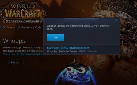fix world of warcraft error blzbntagt00000bb8