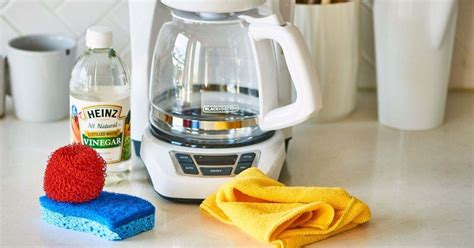 Just a few minutes gets your machine working like new and kills mold. How to clean a coffee maker with vinegar - Healthy Life List