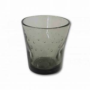 Verre à Café : verres caf en verre souffl gris fum par angel des montagnes ~ Teatrodelosmanantiales.com Idées de Décoration