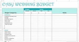 wedding budget worksheet easy wedding budget excel template savvy spreadsheets