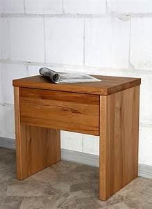 Nachttisch Buche Massiv : nachtkommode 50x49x34cm 1 schublade kernbuche massiv ge lt ~ Frokenaadalensverden.com Haus und Dekorationen