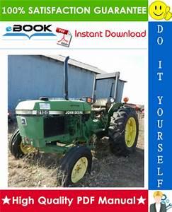 Best  U2606 U2606 John Deere 2155  2355n Tractors Repair Technical