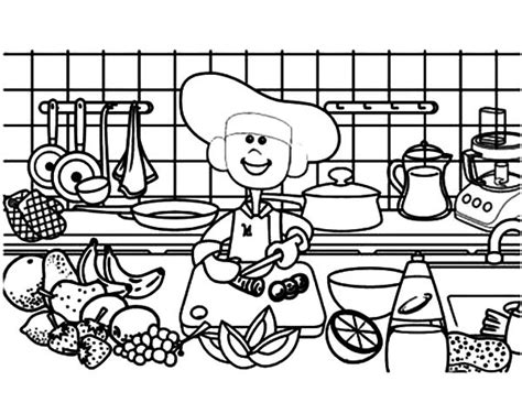 kitchen coloring pages coloring pages for free part 36 3385