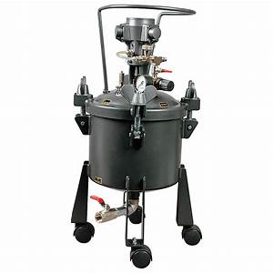 One Piece Pressure Feed Steel Type Pressure Tank