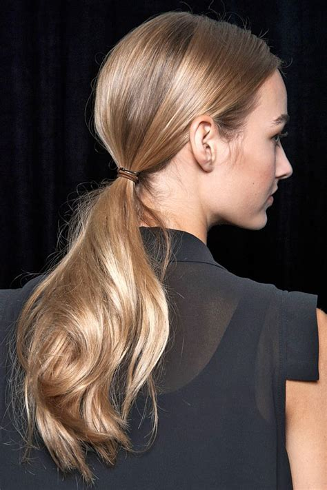 easy hair styles for school timeless runway hairstyles how you can get them models 3608