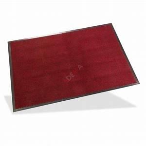 Paillasson D Entrée : paillasson tapis d 39 entr e spektrum 80x120 cm rouge maison ~ Teatrodelosmanantiales.com Idées de Décoration