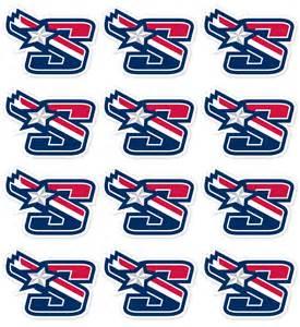 Baseball Helmet Decals Stickers