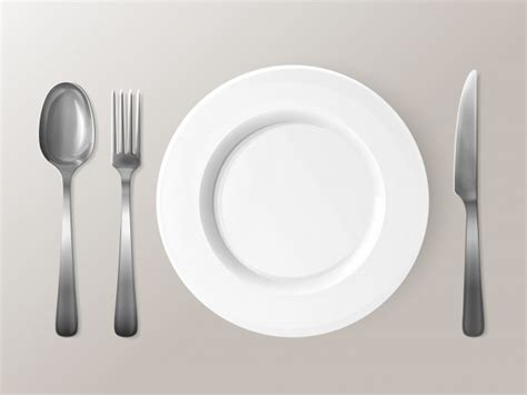 Plate Cutlery Vectors, Photos And Psd Files