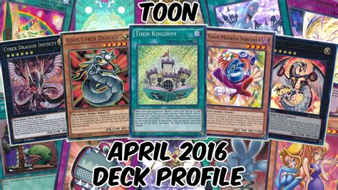 Toon Deck Profile  April 2016  Return Of The Toons