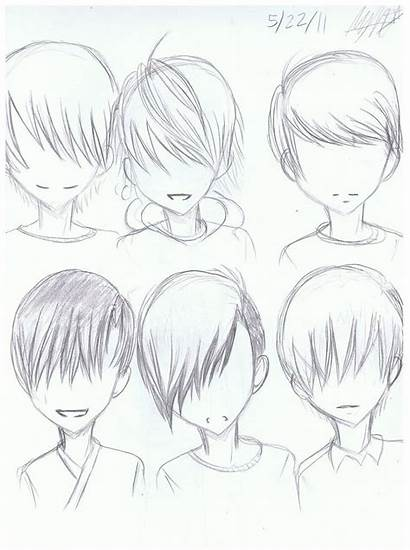 Anime Hairstyles Guy Boy Hair Drawing Hairstyle