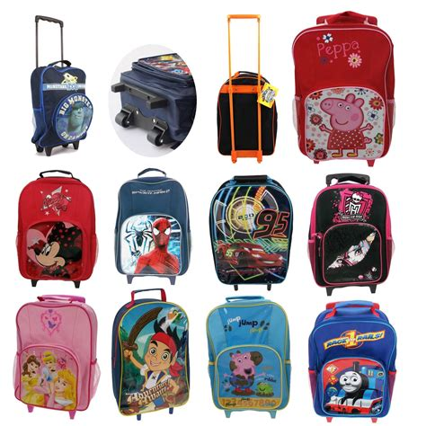 Bedroom Cots by Childrens Disney And Character Wheeled Trolley Bag