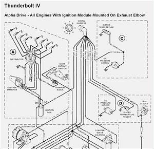 Mercruiser Thunderbolt Iv Ignition Wiring Diagram  U2013 Fasett
