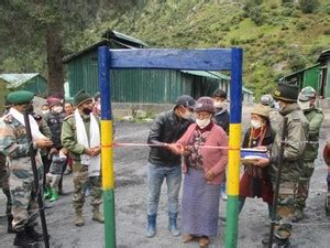 Indian Army established GSM-based PCO for the villagers in ...