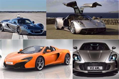 top  fastest cars   world picture gallery
