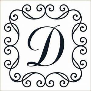 219 best images about the letter d on pinterest great With scroll letter stencils
