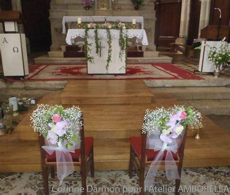 decoration de chaise pour noel décoration de l église pour un mariage amborella by corinne