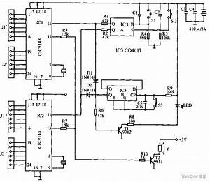 portable dtmf electronics dialer circuit diagram With dtmf circuits