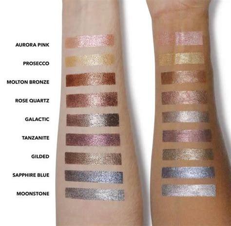 pastel eyeshadow palette brown wear sparkle stick eyeshadow swatches