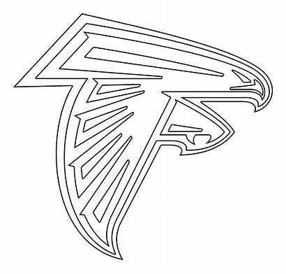 Falcons Atlanta Stencil Svg Transparent Vector Coloring