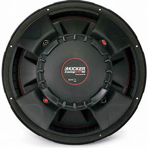 Kicker 43cvr154 Compvr 15 U0026quot  Subwoofer With Dual 4