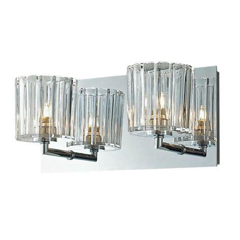 crystal bathroom wall  light fixture candle sconces