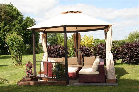 Kiosque Jardin Aluminium by Tonnelle Hexagonale Kiosque De Jardin Diam 232 Tre 3 5 M Aluminium