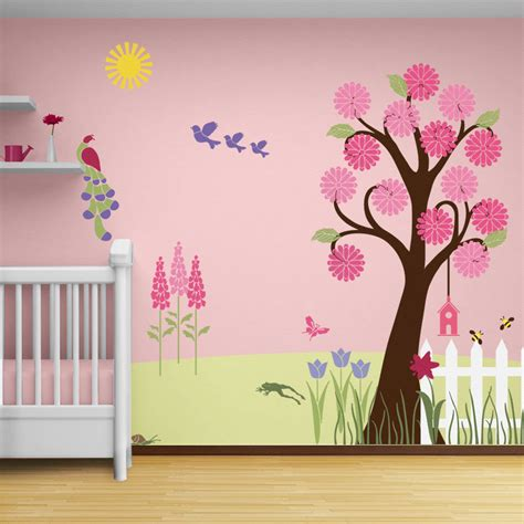 tree wall decor baby nursery baby room endearing image of baby nursery room