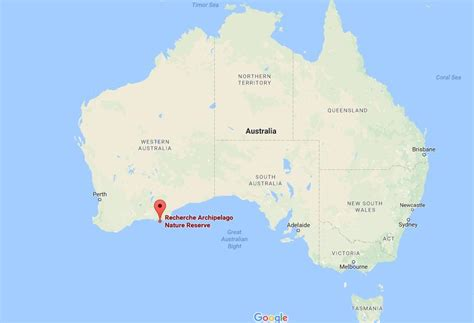 Where is Recherche Archipelago on map Australia | World ...