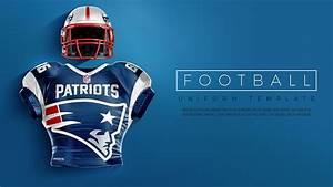 Touchdown Football Uniform Mockup On Behance