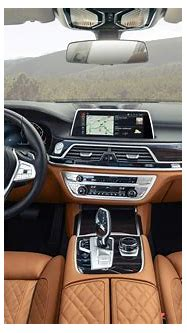 The interior of the BMW 7 Series - Changing Lanes