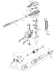 Spare Parts For Motor Endura Minn Kota Brands