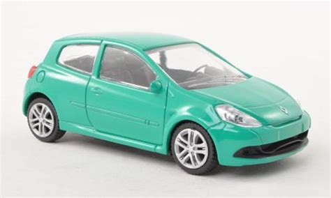 renault green renault clio rs green mcw diecast model car 1 43 buy