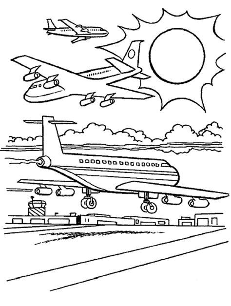 Vliegveld Kleurplaat by Vliegveld Kleurplaat Malvorlage Flughafen Ausmalbild 9534