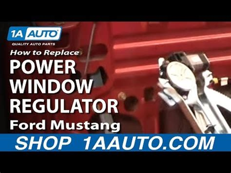 How Install Replace Power Window Motor Regulator Ford