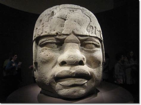 Ancient Mexican Sculptures From The Olmec Now On Display