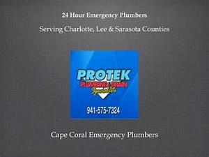 24 Hour Emergency Plumbers Cape Coral FL