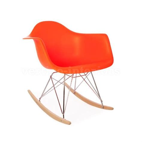 high quality eames style rar rocking arm lounge chair