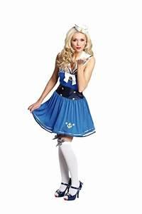 Coole Kostüme Damen : pin up matrosin damenkost m faschingskost m karnevalsverkleidung seefr ~ Frokenaadalensverden.com Haus und Dekorationen