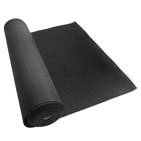 rubber mat roll quot corrugated composite rib quot rubber runner mats the rubber