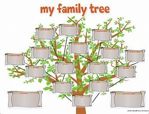 Kid Family Tree Template
